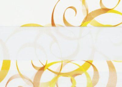 зебра АВАНГАРД 3499 оранжевый, 280 см